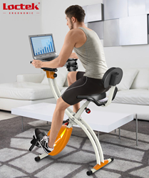 New Tech for CES: x-bike fitness product for adding movement into your day.