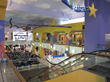 Before image of the interior of the Ridgmar Mall