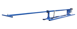 Horizontal Light Mast Constructed of Square Steel Tubing and Powder Coated for Durability
