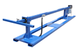 Thirty Foot Horizontal Light Mast Equipped with Skid Pockets for Transporting