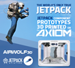 Airwolf 3D Announcement at CES 2016 3D Printed JetPack Accelerates the Product Design Cycle