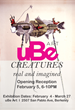 Creatures--real and imagined: uBe Art Exhibition