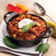 A lunch of Mona's Southwestern chili is 300 calories.