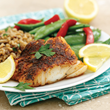 With The Perfect Portion Cookbook, you can eat blackened cod without the guilt.