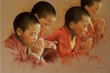 "Spirituality Circle: Museum of Spiritual Art ""Young Monks Praying"""