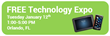Software Vendor Announces Technology Expo in Orlando, Florida, January 12, 2016
