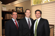 From Left: Mike Riddlesperger, CFO, Jim Warmington Jr., CEO and Matt Tingler, President and COO