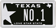 Lone Star Black is Texas' Number 1 Specialty License Plate in 2015!