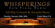 Whisperings Solo Piano All-Star Concert & Award Show