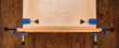 Knob-topped adjustment bolts with nylon tips allow precise side-to-side adjustment of the drawer front position.