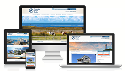 Ocracoke Island Realty new website screenshot