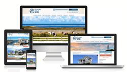 Ocracoke Island Realty new website screenshot