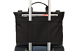 Staad Attaché—rear panel for slipping over a wheeled suitcase handle