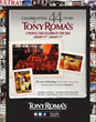 Tony Roma's Celebrates 44th Anniversary with $44 Meal for Two