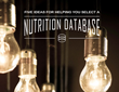 ESHA Issues Nutrition Database eBook