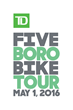 Bike New York Announces Registration for 39th Annual TD Five Boro Bike Tour Presented by REI To Open Tuesday, Jan. 12 at 10:00AM