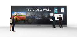 200-Inch Touchscreen TV Video Wall