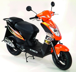 Win a KYMCO Bike-  Sweepstakes From Gotham Motorcycles