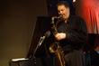 Tenor saxophonist Russ Nolan in performance at Firehouse 12, New Haven, CT.