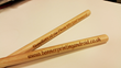 drum sticks - personalised with banner printing android website