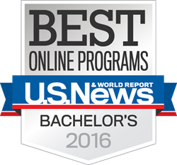 Penn State World Campus was ranked No. 1 for best online bachelor's degree programs.