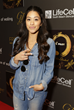 Gina Rodriguez Attends the GBK and Pilot Pen Gift Lounge