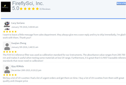 Reviews for the FireflySci Cuvette Shop