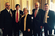 U.S. Senator Chuck Schumer meets with LE&RN Spokesperson Kathy Bates, Executive Director William Repicci, and other lymphatic disease advocates in Washington, D.C.