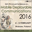 Mobile Deployable Communications 2016: Latest updates from Polish MoD, German MoD, French MoD, Hungarian MoD…