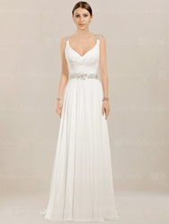 chiffon wedding dress BC952