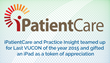 iPatientCare and Practice Insight Concluded the VUCON with an Announcement of the Winner of iPad