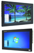 """Comark Launches New Nematron™ 21.5"""" Widescreen Industrial Flat Panel Mount Computer and Monitor with High Definition Resolution"""