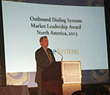 Noble Systems Receives Market Leadership Award at Frost & Sullivan's 2016 Awards Gala