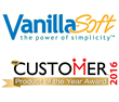 VanillaSoft Receives 2016 CUSTOMER Magazine Product of the Year Award