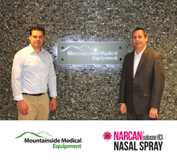Mountainside Medical Equipment Authorized Distributor of Narcan® Nasal Spray