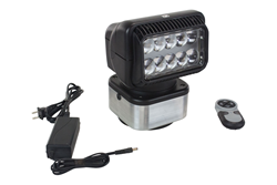 36 Watt LED Remote Controlled Spotlight with Lithium Ion Battery