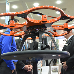Sensing and other technologies advanced at SPIE Defense and Commercial Sensing enable drones to serve as mobile sensing platforms in areas from security to agriculture to climate observation.