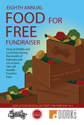 Food for Free kick-off party in Cambridge February 4th!