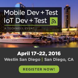 Mobile Dev + Test and IoT Dev + Test Full Programs Announced