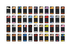 The Janus Case Collection features protective cell phone cases with a handy built-in credit card pocket