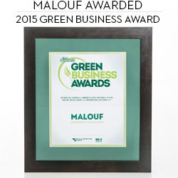 Malouf Green Business Award