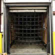 """82"""" x 82"""" Heavy Duty Cargo Net with Ratchets and E-Track Fittings"""