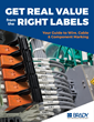 """Brady Announces """"Get Real Value from the Right Labels"""" Guidebook"""