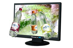 "Magnetic 3D's 22"" Glasses-Free 3D Display"