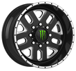 Monster Energy Limited Edition 539BM Black Wheel