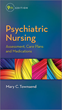 Psychiatric Nursing Assessment, Care Plans, and Medications, 9th Edition