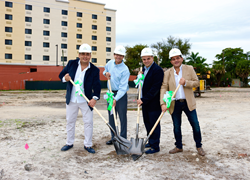 TownePlace Suites MIA Airport Groundbreaking