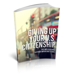 Renouncing Your U.S. Citizenship