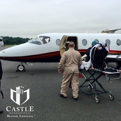 Castle Medflight offers unique air medical transport solutions.