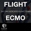 Castle MedFlight ECMO team. 24/7 Availability.